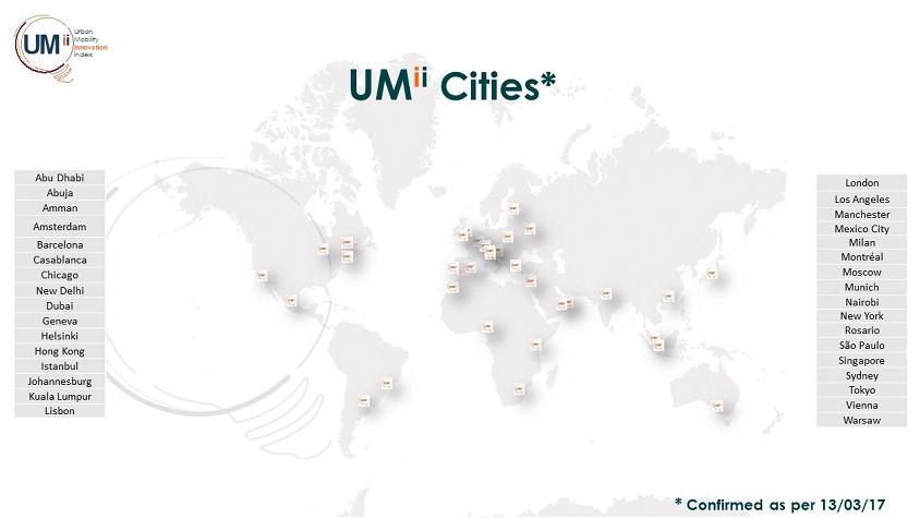 More than 30 cities contributing to UMii